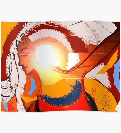 illumination in colour. Poster
