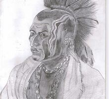 Red Indian by TheArtLover