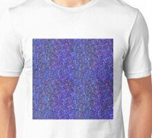 Blue Glitter Blue Unisex T-Shirt