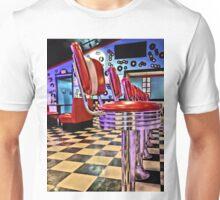 Retro Diner Unisex T-Shirt