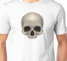 Low Poly Skull Design Unisex T-Shirt