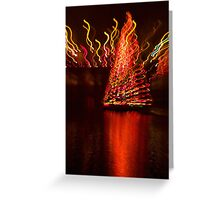 Holiday reflections Greeting Card