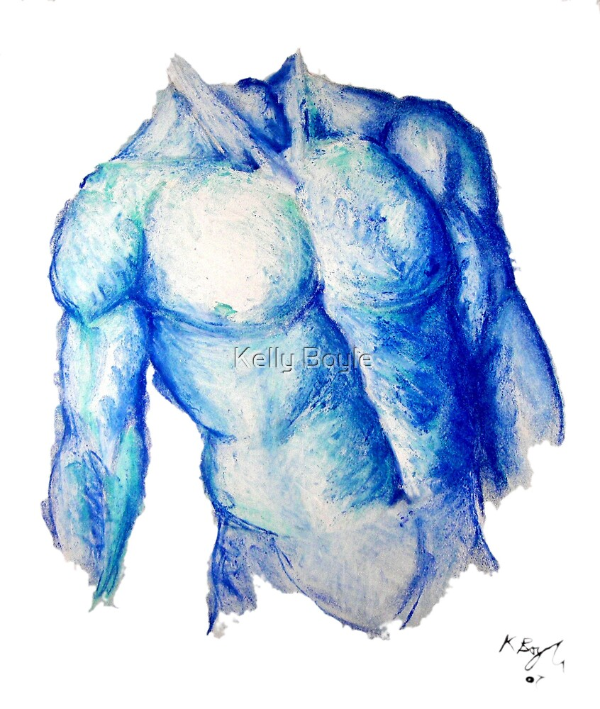 Blue Man by Kelly Boyle