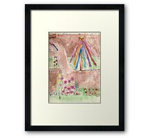 princess butterfly Framed Print