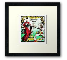 Jesus and Elvis Framed Print