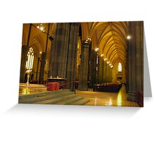 Holy Architecture Greeting Card