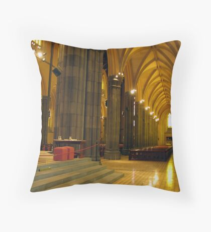 Holy Architecture Throw Pillow
