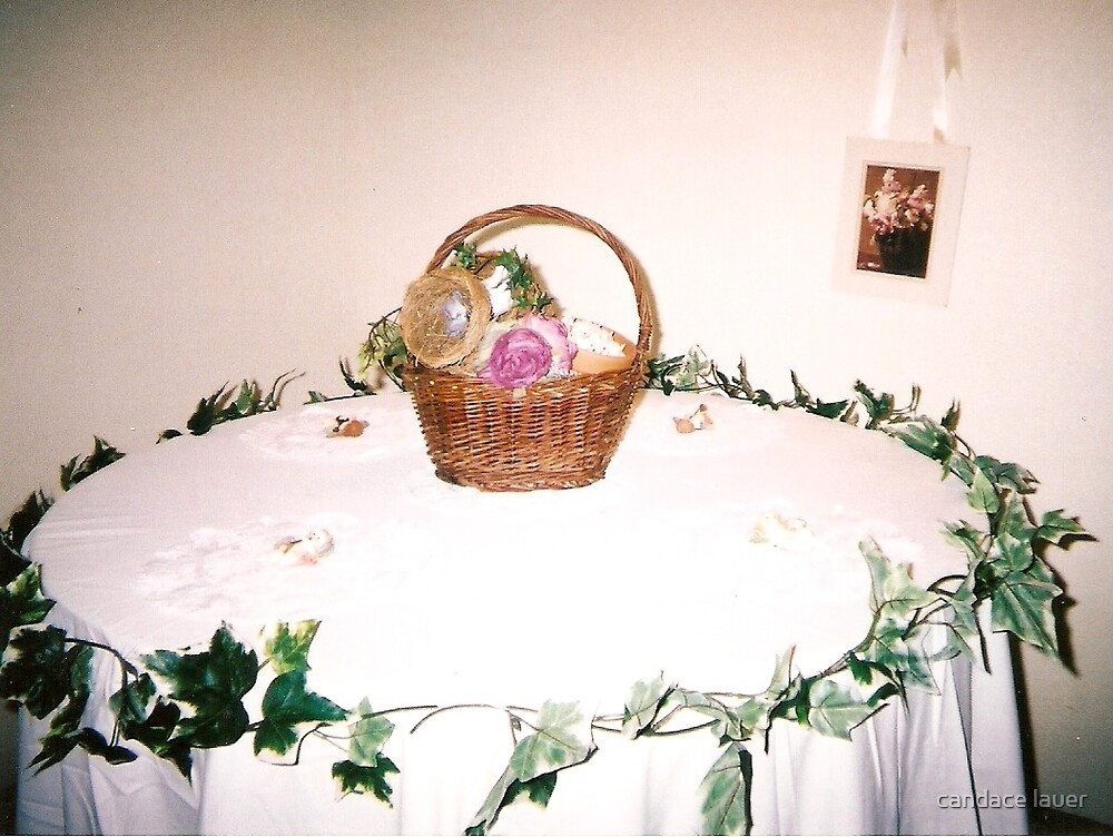 the floral haven basket - ivy and me  by candace lauer