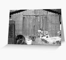 Barns... Greeting Card