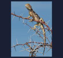 Spiny Agama - Lizard Blues of Fun Baby Tee