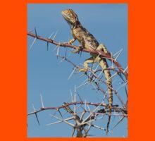 Spiny Agama - Lizard Blues of Fun Kids Tee