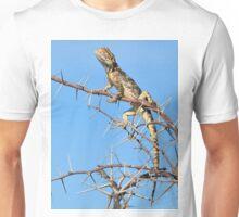 Spiny Agama - Lizard Blues of Fun Unisex T-Shirt