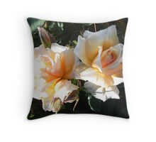 Twin beauty Throw Pillow