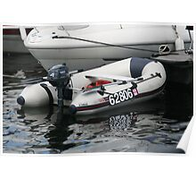 Inflatable Boat Poster