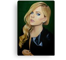 """Avril Lavigne"" Oil Painting  Canvas Print"