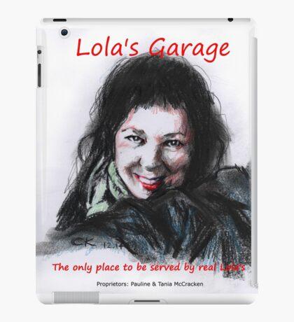 Lola's Garage iPad Case/Skin