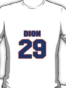 National Hockey player Michel Dion jersey 29 T-Shirt