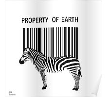 Property of Earth Poster