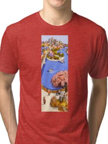 Riverside stroll Tri-blend T-Shirt