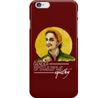 Gabriel - All Stardust & Apathy. iPhone Case/Skin