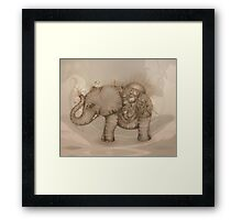 Magic Elephant Framed Print