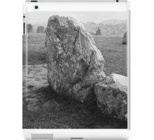 Castlerigg Stone Circle closeup iPad Case/Skin