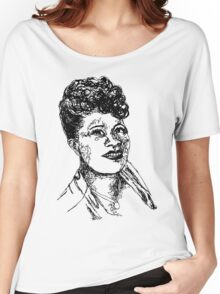 Icon: Ella Fitzgerald Women's Relaxed Fit T-Shirt