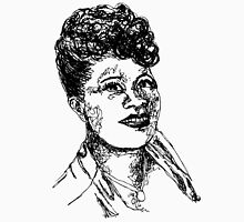 Icon: Ella Fitzgerald Womens Fitted T-Shirt