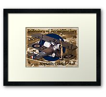 Sopwith Camel  A Century of Aerial Warfare Framed Print