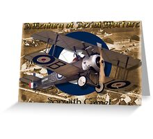 Sopwith Camel  A Century of Aerial Warfare Greeting Card