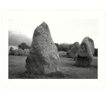 Castlerigg Stone Circle front Art Print