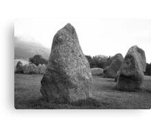 Castlerigg Stone Circle front Canvas Print