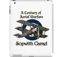 Sopwith Camel  A Century of Aerial Warfare iPad Case/Skin