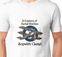 Sopwith Camel  A Century of Aerial Warfare Unisex T-Shirt