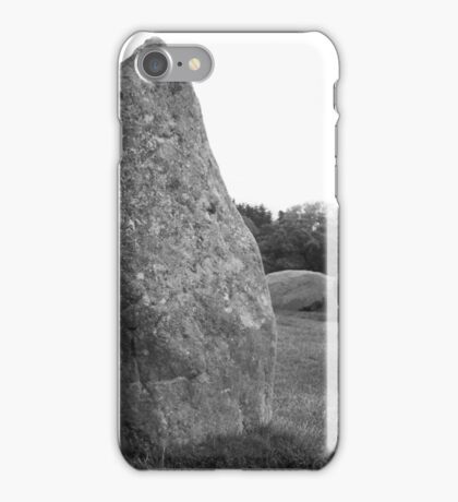 Castlerigg Stone Circle front iPhone Case/Skin