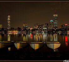 Boston from Memorial Drive by Gleb Zverinskiy