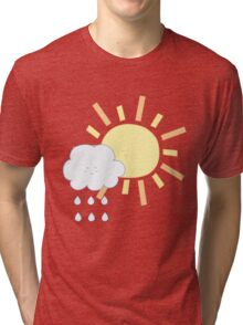 Cloud & Sun Tri-blend T-Shirt