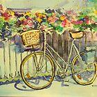 Wonky wheeled bike by christine purtle