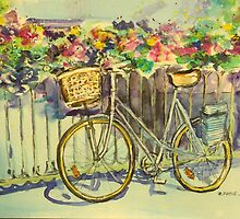 Wonky wheeled bike by christine purtle