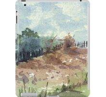 Our neighbour's fence iPad Case/Skin