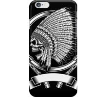 indian (skull) iPhone Case/Skin