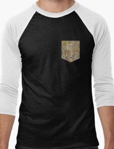 Map tee  Men's Baseball ¾ T-Shirt