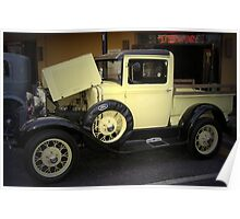 1931 Ford Model A Pickup Truck Poster