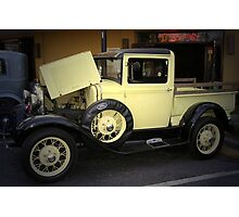 1931 Ford Model A Pickup Truck Photographic Print