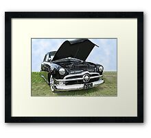 Bad To The Bone Framed Print