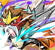 Entei | Sacred Fire by ishmam