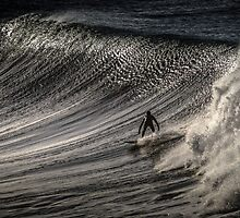 Bells Beach Surfer Australia by Russell Charters