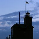 Holland Harbor Lighthouse by Brion Marcum