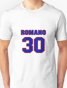 National Hockey player Roberto Romano jersey 30 T-Shirt