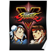 Street Fighter - Chun-li & Ryu Poster